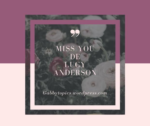 Miss youde Lucyanderson