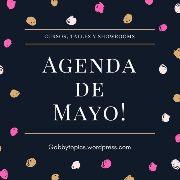 Agenda de Mayo!