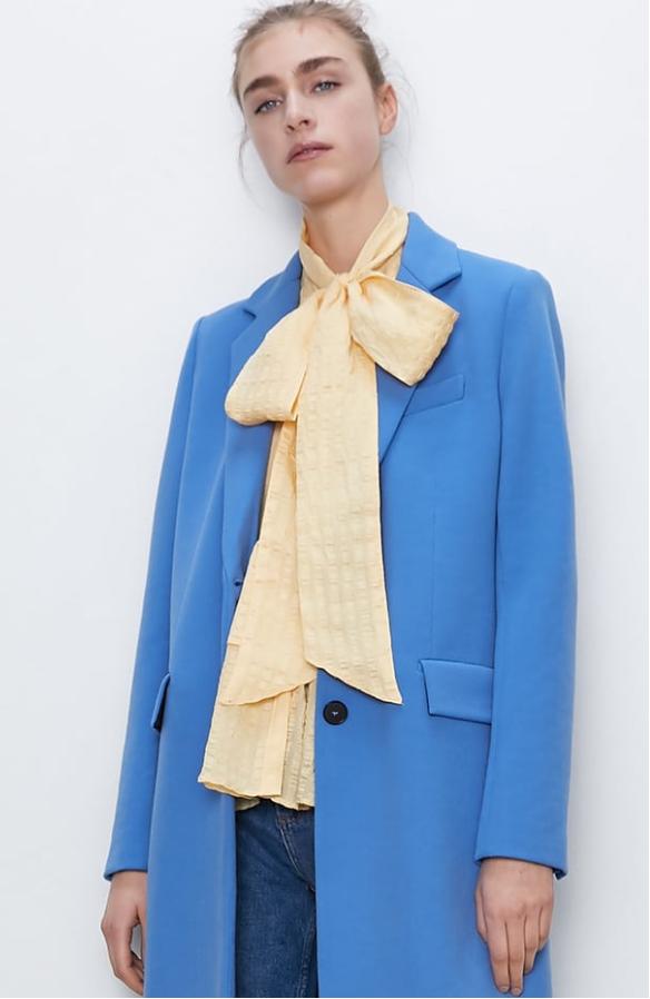zara woman azul - gabbytopics